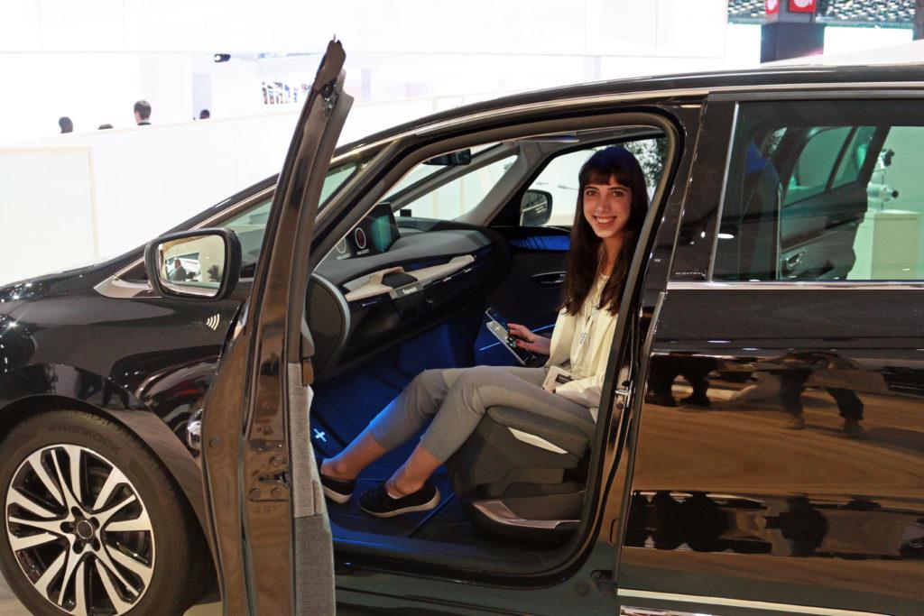 Sebnem Mondial de l'auto 2